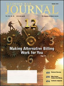 October 2014 Illinois Bar Journal Cover Image