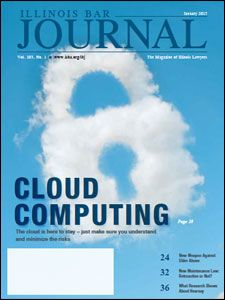 January 2015 Illinois Bar Journal Cover Image