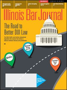 October 2015 Illinois Bar Journal Cover Image