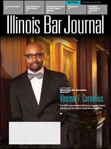 July 2016 Illinois Bar Journal Cover Image