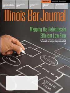 August 2016 Illinois Bar Journal Cover Image