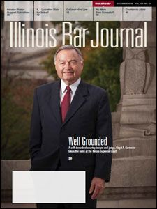 December 2016 Illinois Bar Journal Cover Image