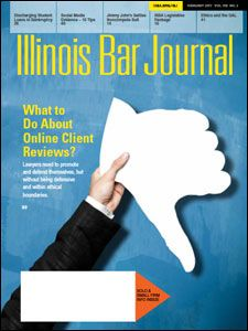 February 2017 Illinois Bar Journal Cover Image