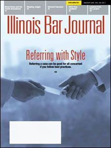 January 2018 Illinois Bar Journal Cover Image