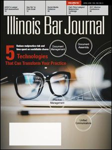 April 2018 Illinois Bar Journal Cover Image