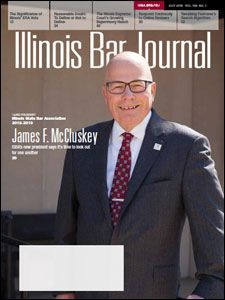 July 2018 Illinois Bar Journal Cover Image
