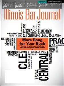 September 2018 Illinois Bar Journal Cover Image