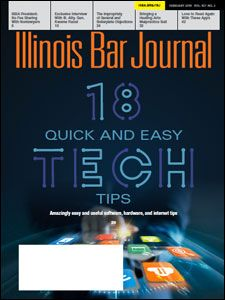 February 2019 Illinois Bar Journal Cover Image