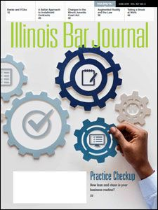 June 2019 Illinois Bar Journal Cover Image