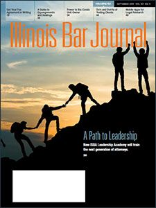 September 2019 Illinois Bar Journal Cover Image