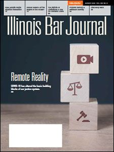 August 2020 Illinois Bar Journal Cover Image