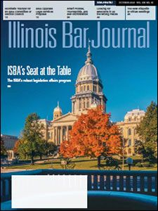 October 2020 Illinois Bar Journal Cover Image
