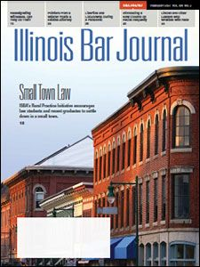 February 2021 Illinois Bar Journal Cover Image