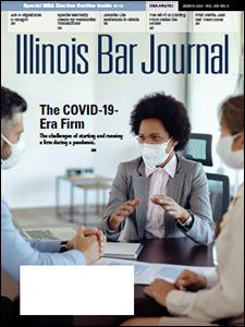 March 2021 Illinois Bar Journal Cover Image