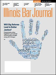 May 2021 Illinois Bar Journal Cover Image