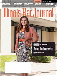 July 2021 Illinois Bar Journal Cover Image