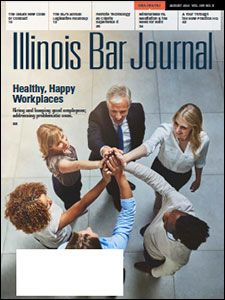 August 2021 Illinois Bar Journal Cover Image