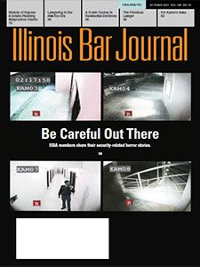 October 2021 Illinois Bar Journal Cover Image