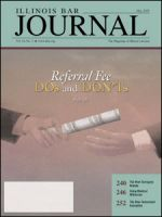 May 2005 Illinois Bar Journal Cover Image