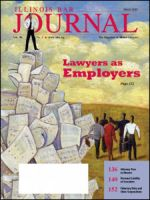 March 2010 Illinois Bar Journal Cover Image