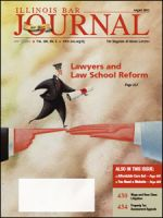 August 2012 Illinois Bar Journal Cover Image