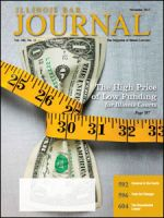 November 2012 Illinois Bar Journal Cover Image