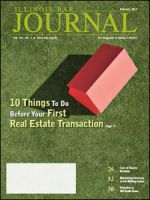February 2015 Illinois Bar Journal Cover Image