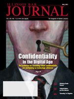 May 2015 Illinois Bar Journal Cover Image