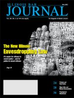 June 2015 Illinois Bar Journal Cover Image