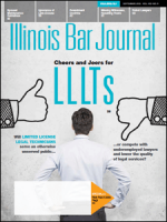 September 2015 Illinois Bar Journal Cover Image
