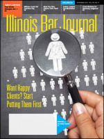 November 2015 Illinois Bar Journal Cover Image
