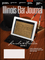 February 2016 Illinois Bar Journal Cover Image