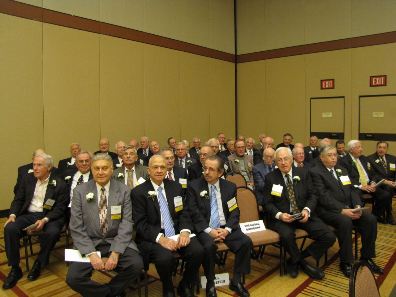 The 1959 Class of Senior Counsellors