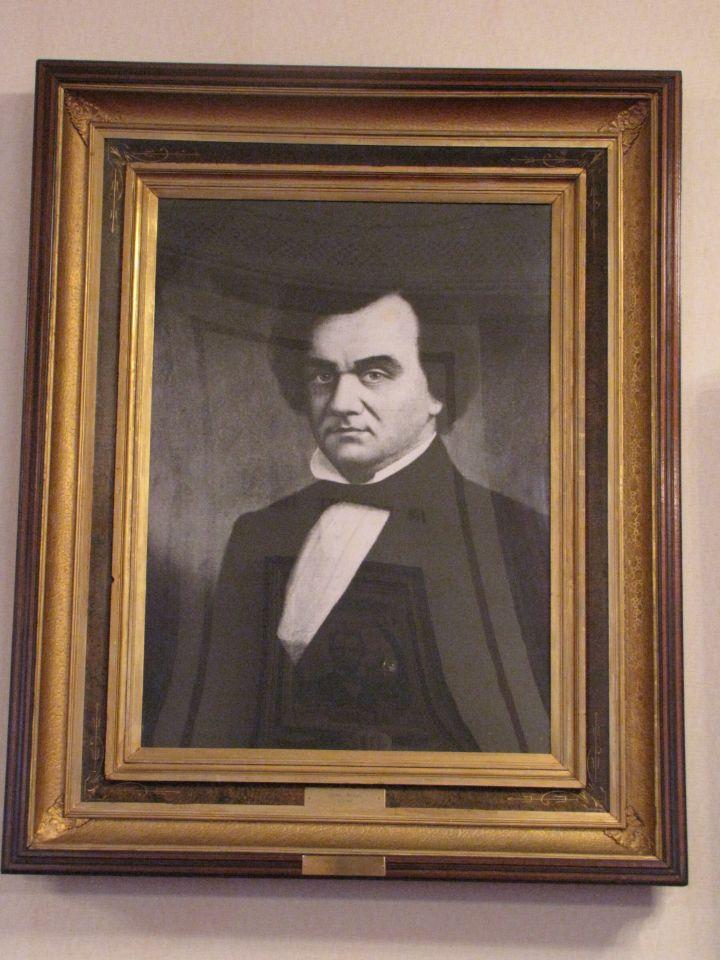 ... an image of Stephen Douglas