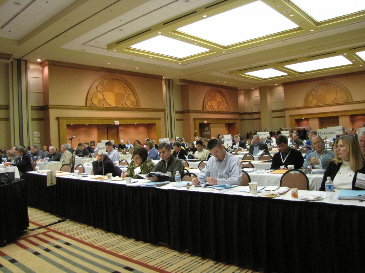 The 201-strong ISBA Assembly