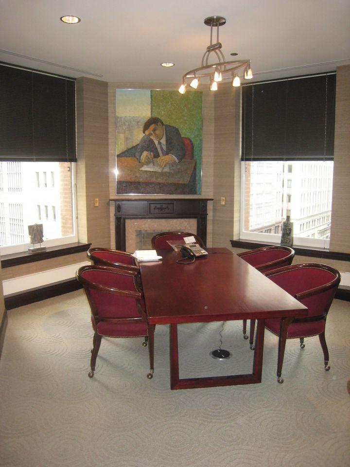 Corner conferece room
