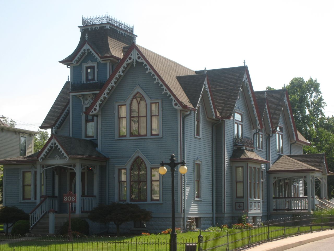 The Elmore & Reid offices are housed in an 1879 Victorian.