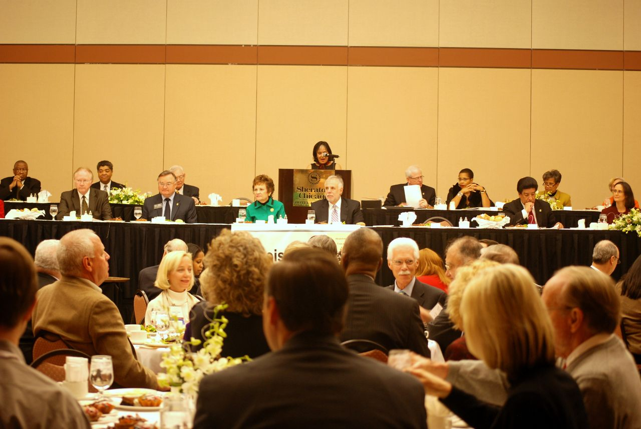 The Illinois Judges Association helds its luncheon on Friday, Dec. 11, at the Sheraton Chicago Hotel & Towers.