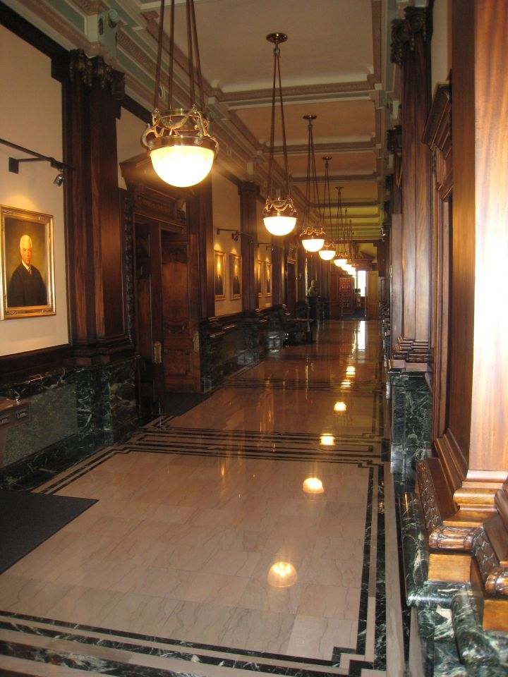 Main hallway on the 2nd floor