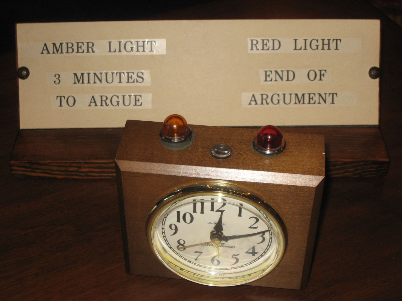 Timer in the Illinois Supreme Court courtroom