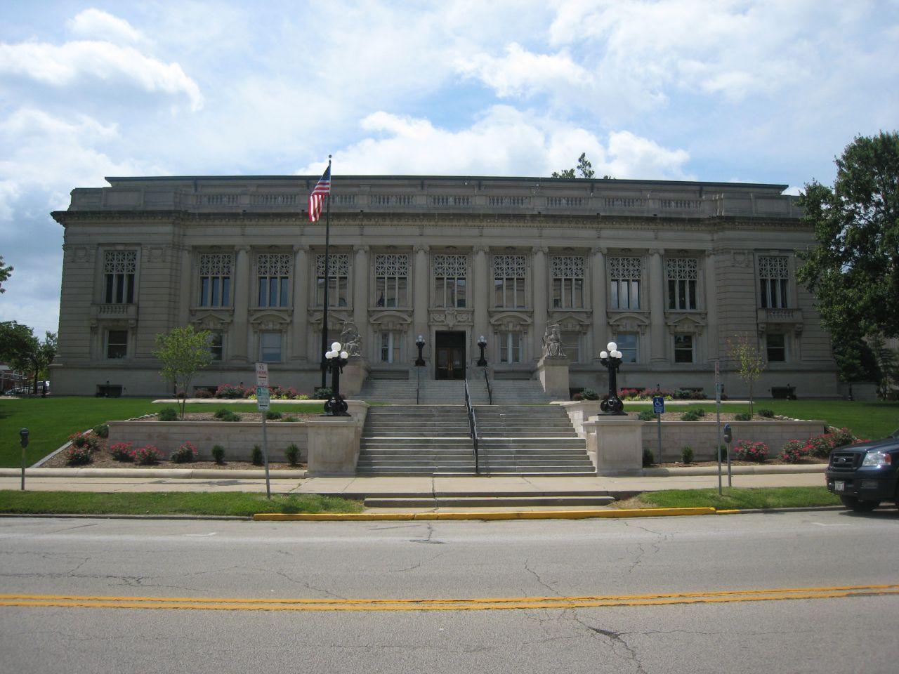The Illinois Supreme Court building at 200 E. Capitol Ave., Springfield