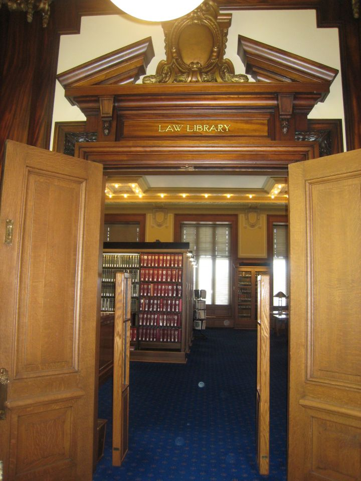 Entrance to Law Library
