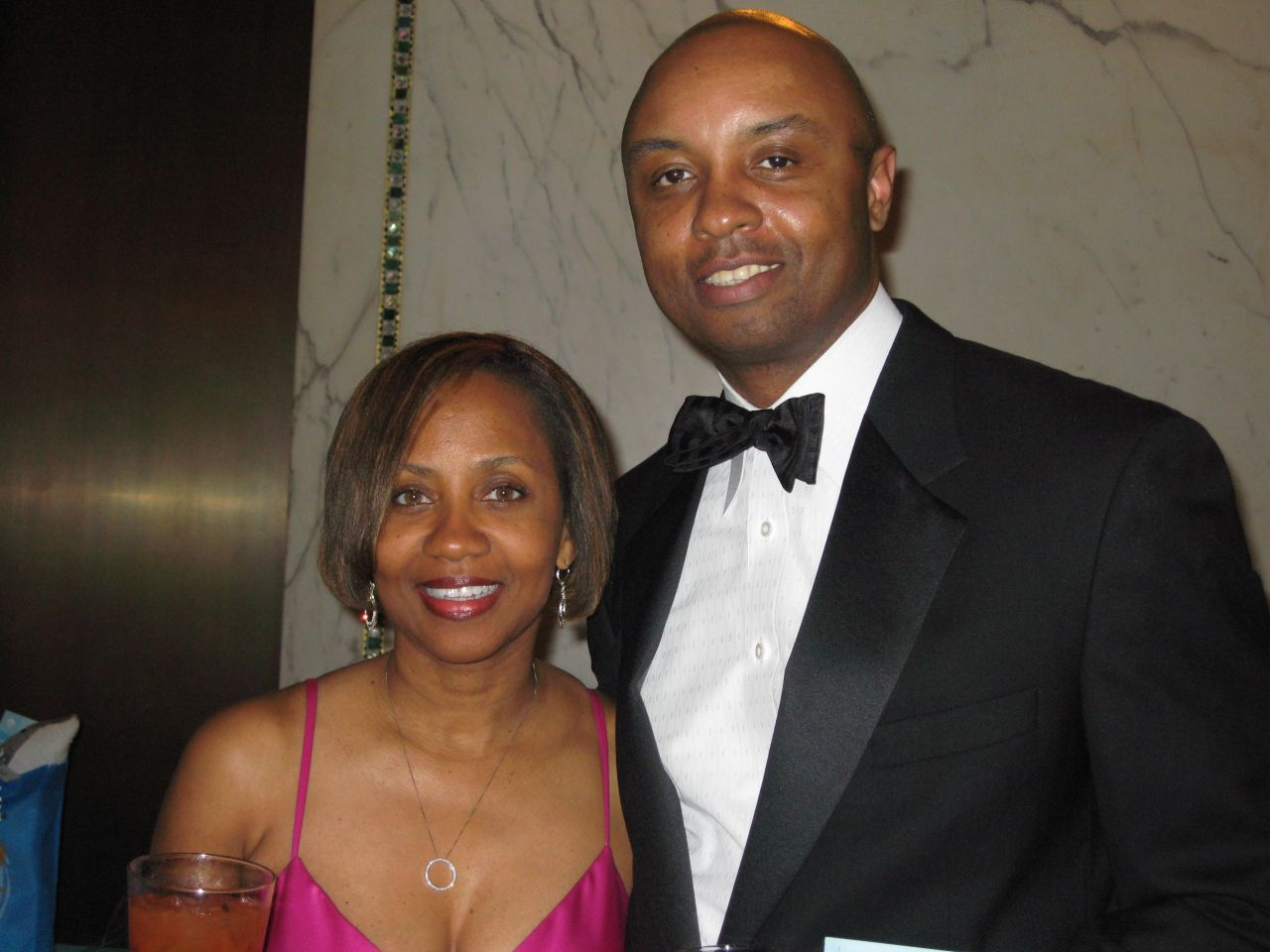 IBF President Vince Cornelius and wife Zina