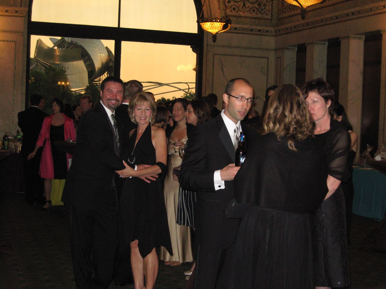 The Summer Soiree was held at the Chicago Cultural Center.
