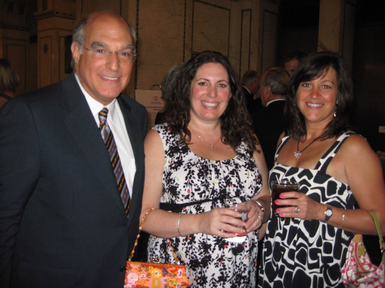 ISBA Second Vice President Mark Hassakis, IBF Executive Director Susan Lewers and IBF Associate Executive Director Lisa Corrao