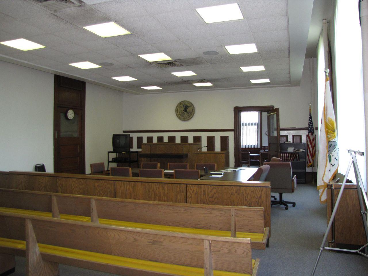 Older courtroom