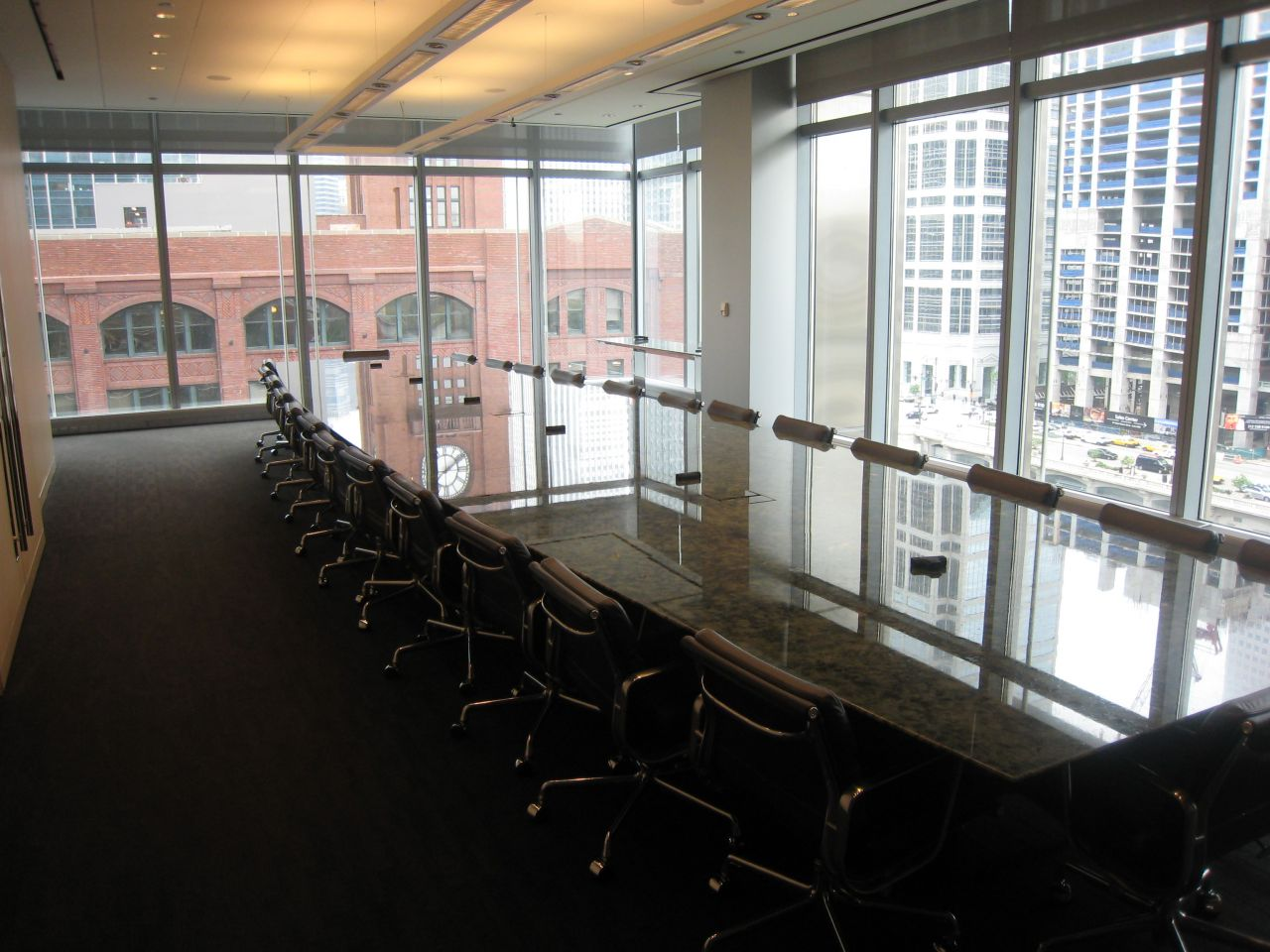 The 7th floor boardroom.