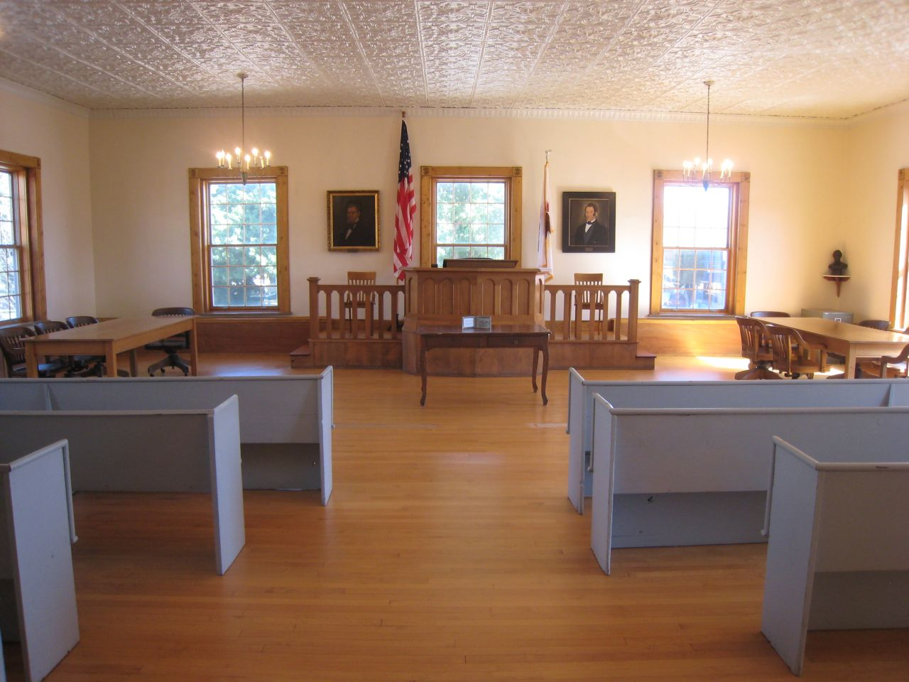 The Lincoln Courtroom