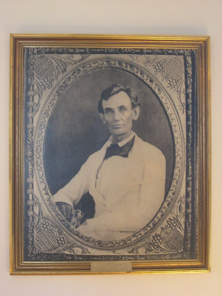 Picture of Abraham Lincoln taken immediately after Armstrong verdict
