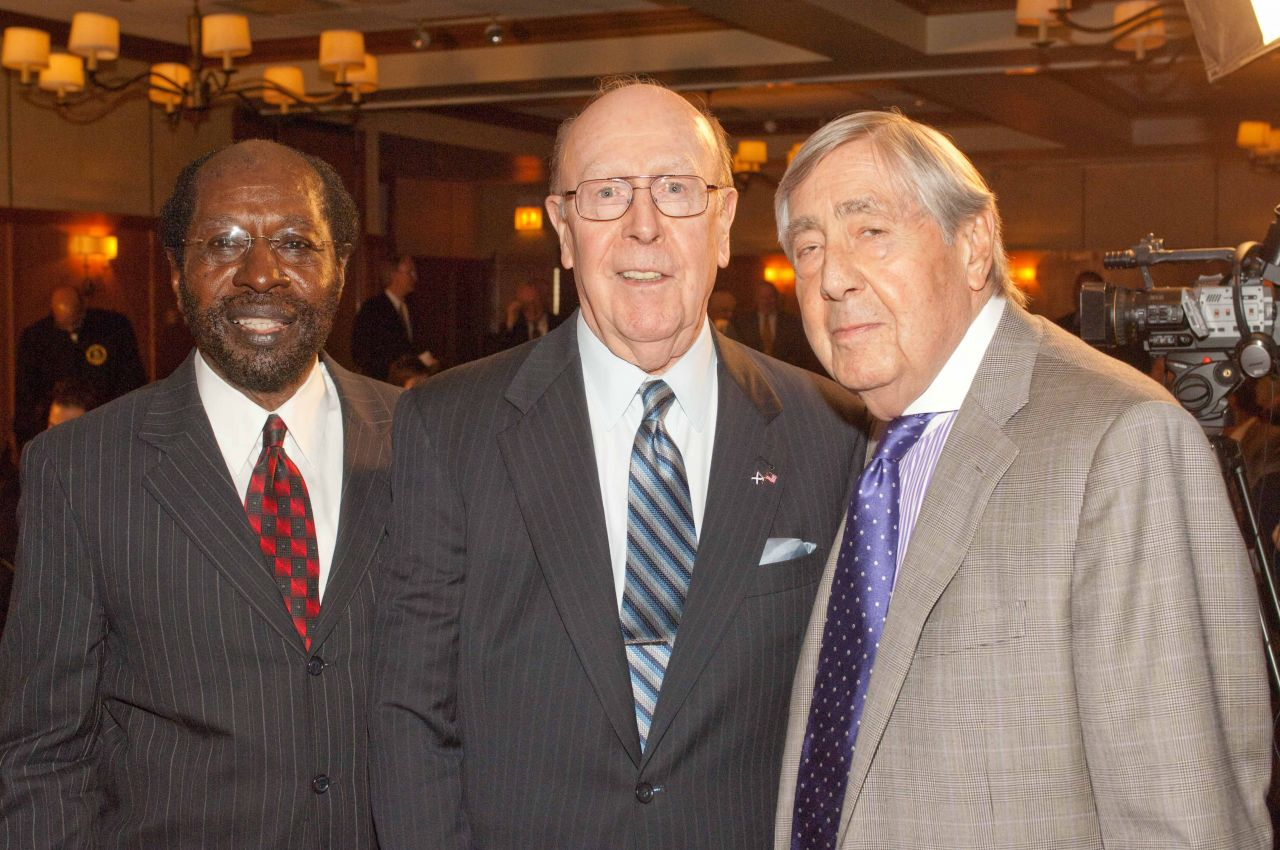 Judge E. Kenneth Wright, Jr., Judge William A. Bauer, Jerold S. Solovy.